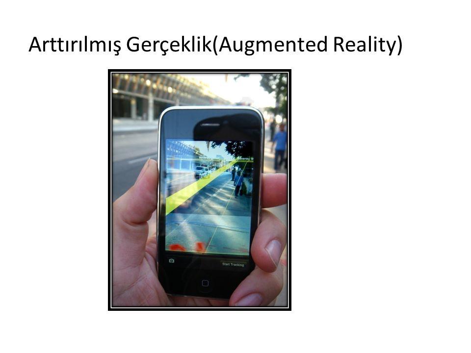 Arttırılmış Gerçeklik(Augmented Reality)