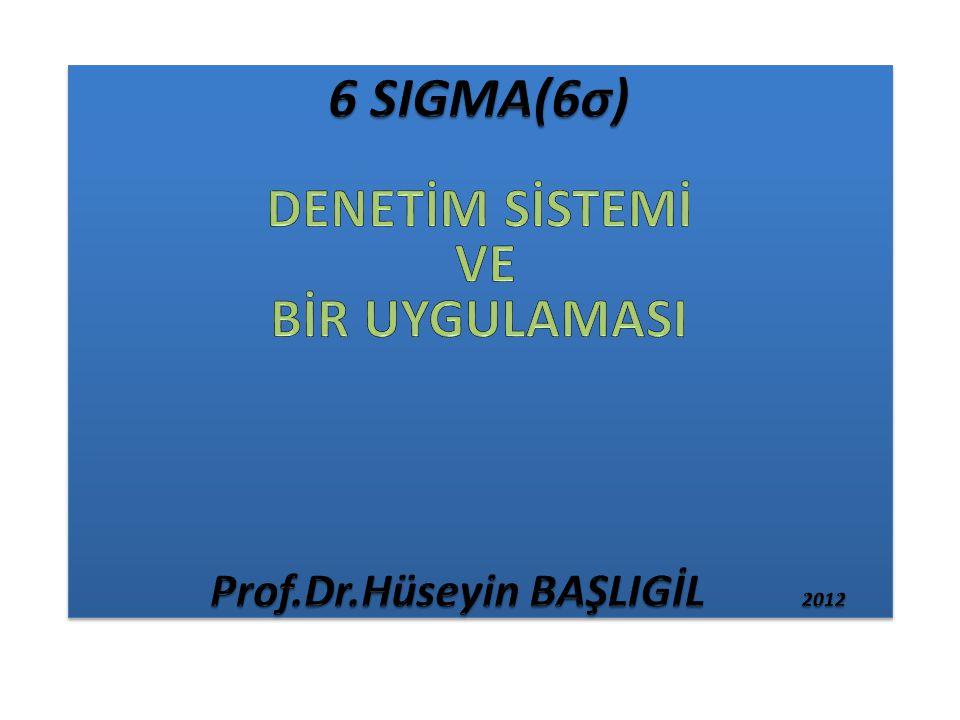 Prof.Dr.Hüseyin BAŞLIGİL 2012