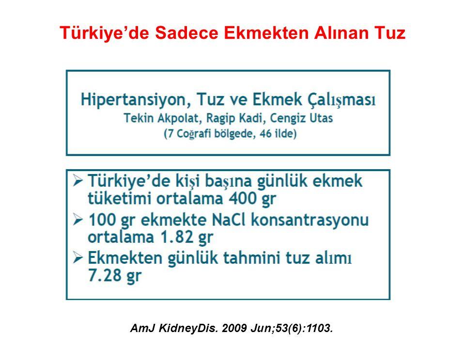Türkiye'de Sadece Ekmekten Alınan Tuz