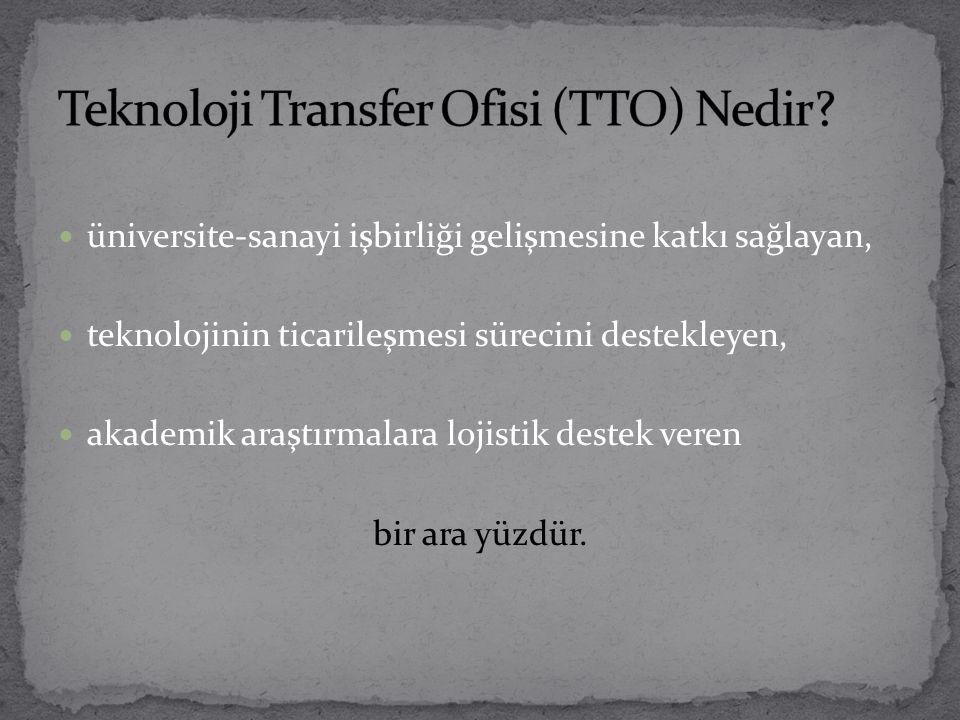 Teknoloji Transfer Ofisi (TTO) Nedir