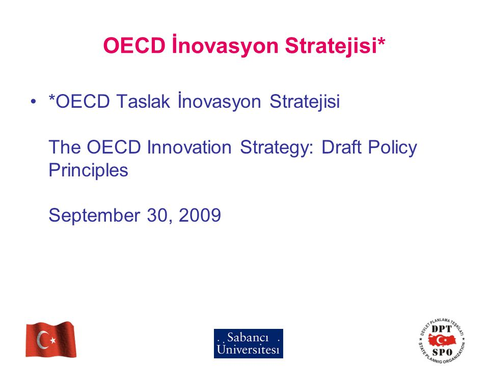 OECD İnovasyon Stratejisi*