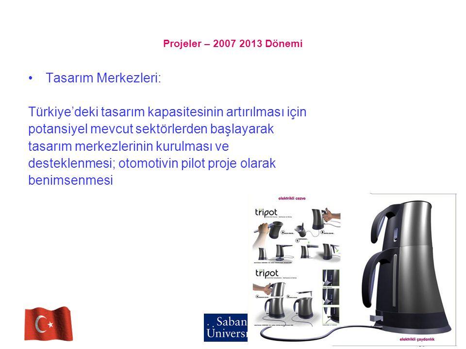 Türkiye'deki tasarım kapasitesinin artırılması için