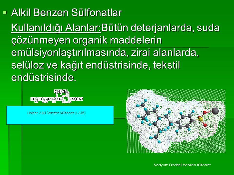 Alkil Benzen Sülfonatlar