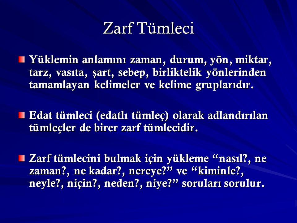 Zarf Tümleci