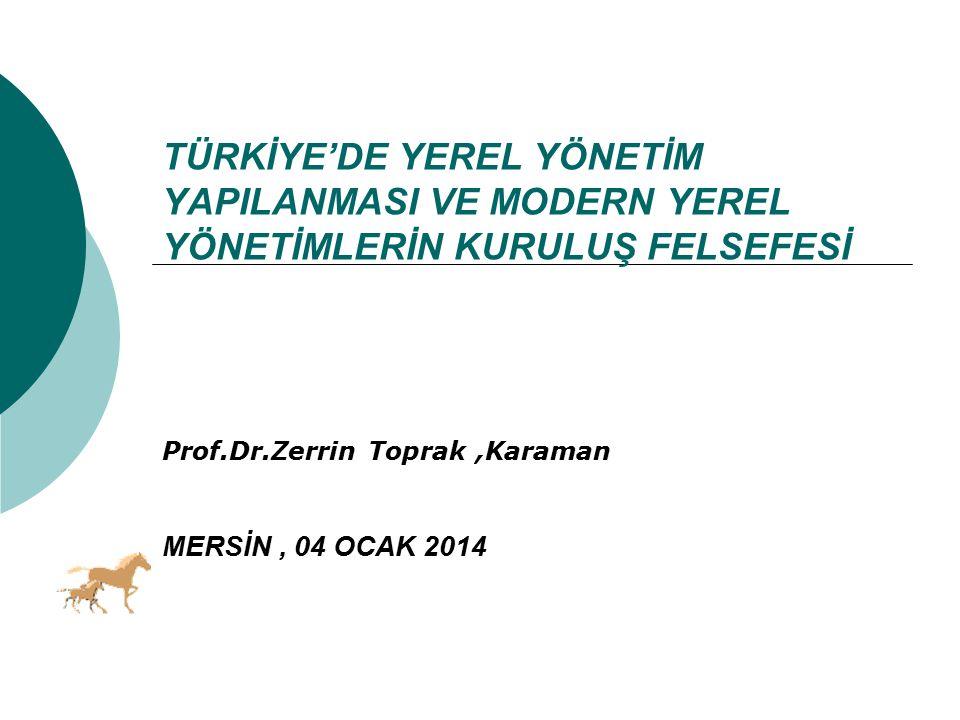Prof.Dr.Zerrin Toprak ,Karaman MERSİN , 04 OCAK 2014
