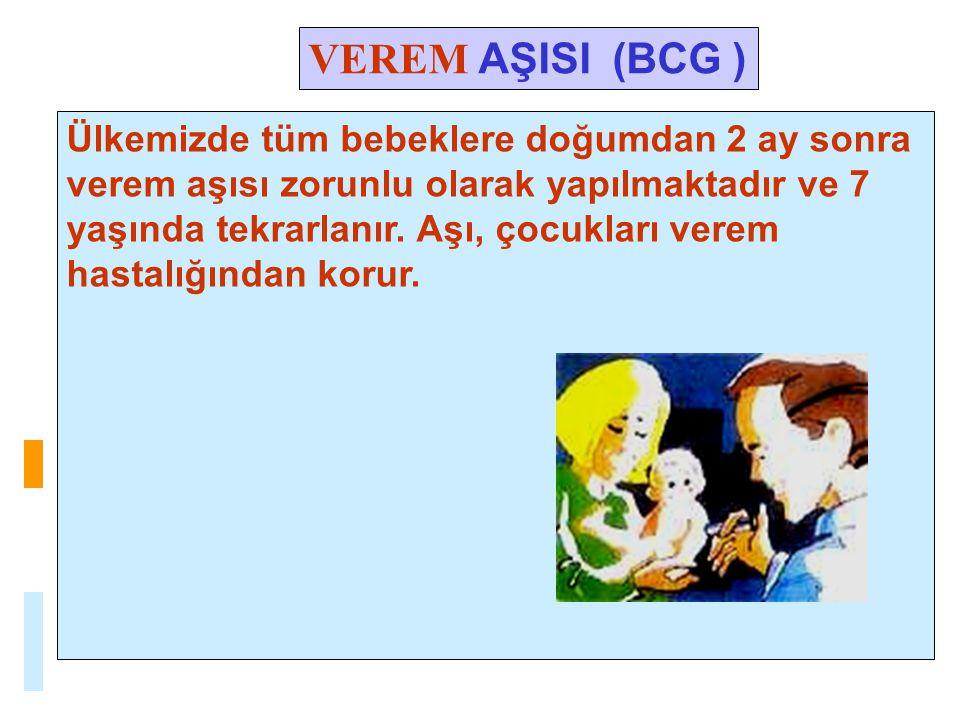 VEREM AŞISI (BCG )