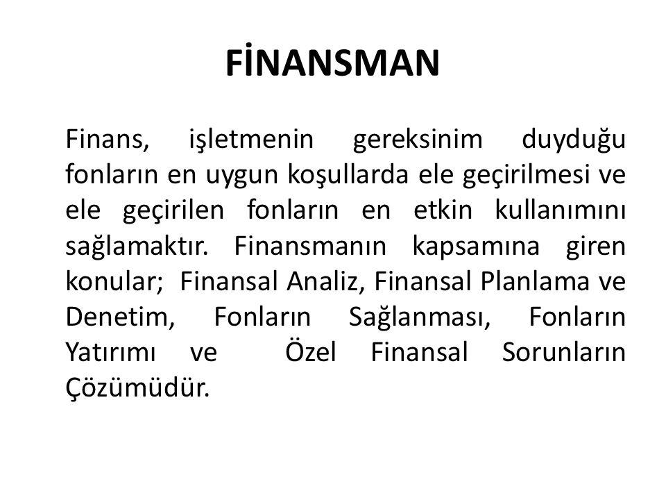 FİNANSMAN