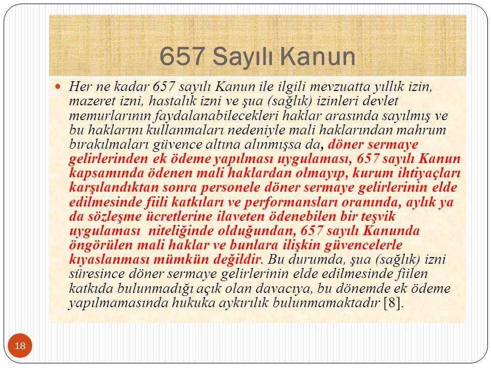 657 Sayılı Kanun