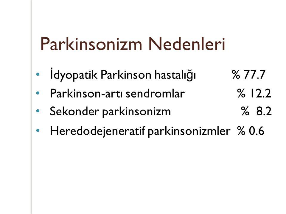 Parkinsonizm Nedenleri