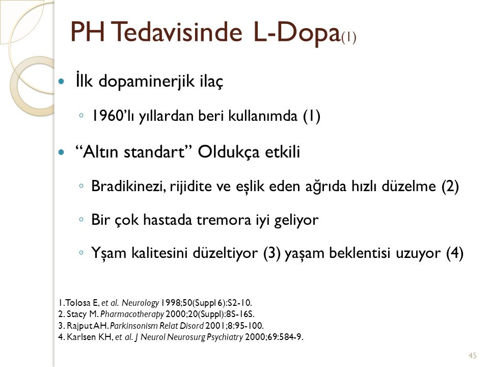 PH Tedavisinde L-Dopa(1)