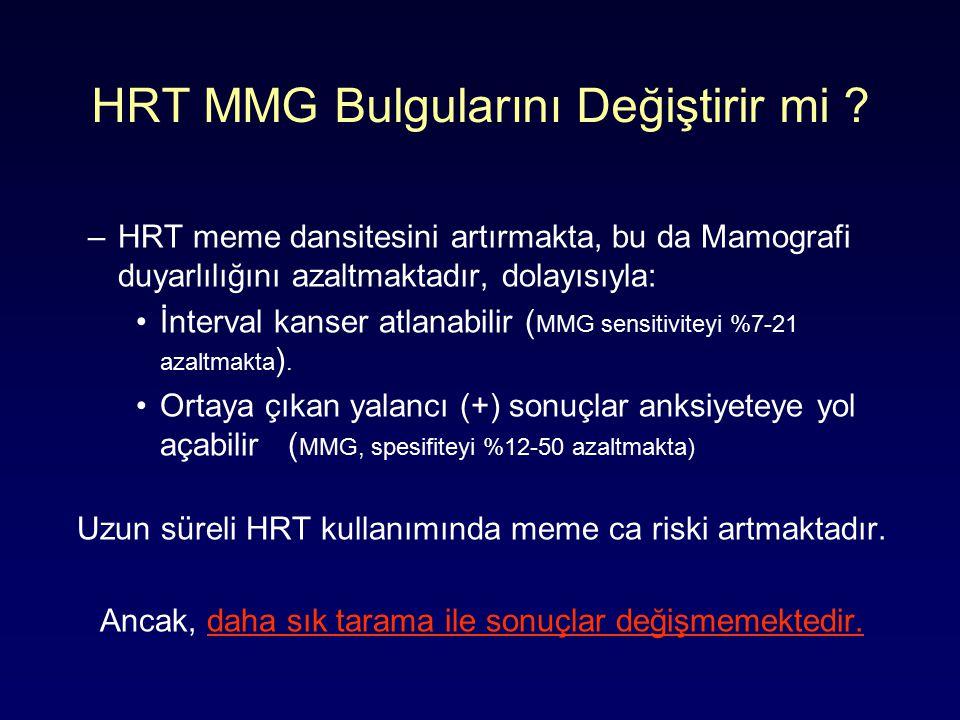 HRT MMG Bulgularını Değiştirir mi