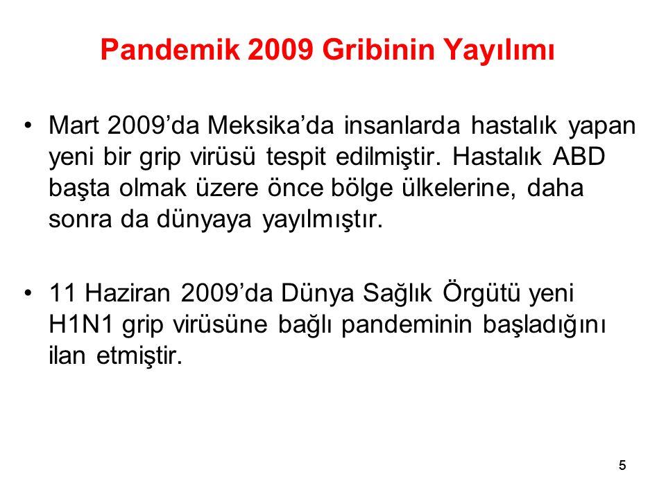 Pandemik 2009 Gribinin Yayılımı