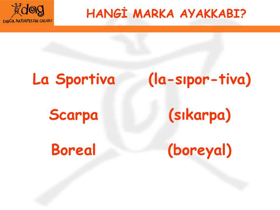 La Sportiva Scarpa Boreal (la-sıpor-tiva) (sıkarpa) (boreyal)