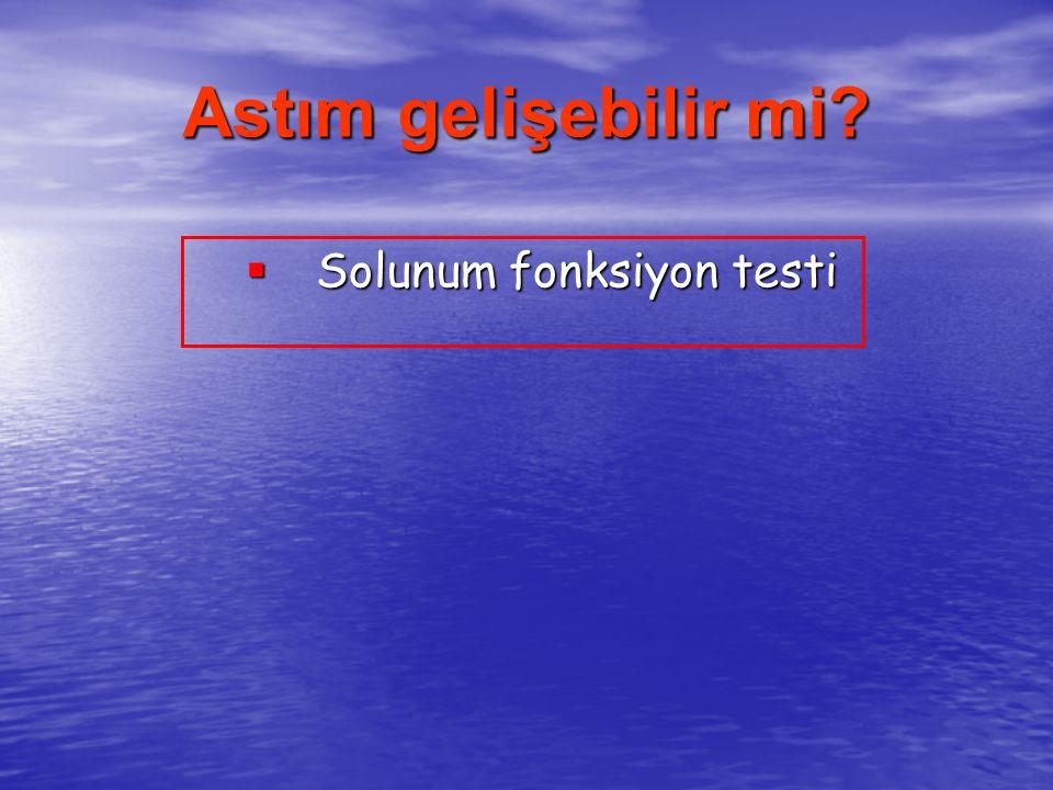 Astım gelişebilir mi Solunum fonksiyon testi 26