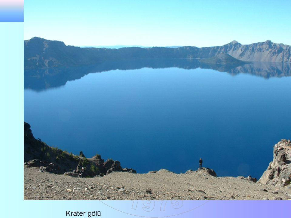 Krater gölü