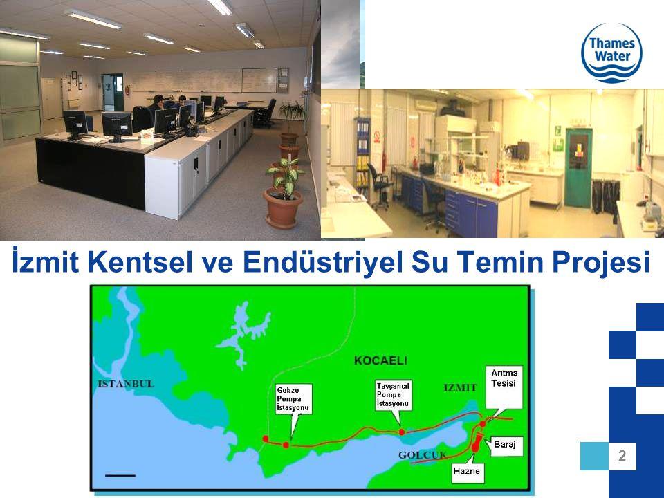 İzmit Kentsel ve Endüstriyel Su Temin Projesi