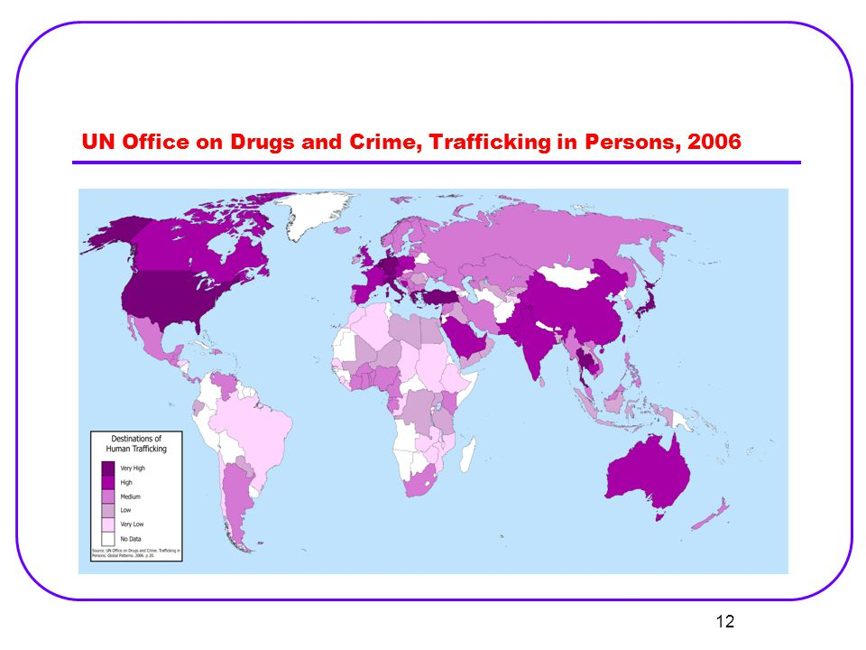 UN Office on Drugs and Crime, Trafficking in Persons, 2006