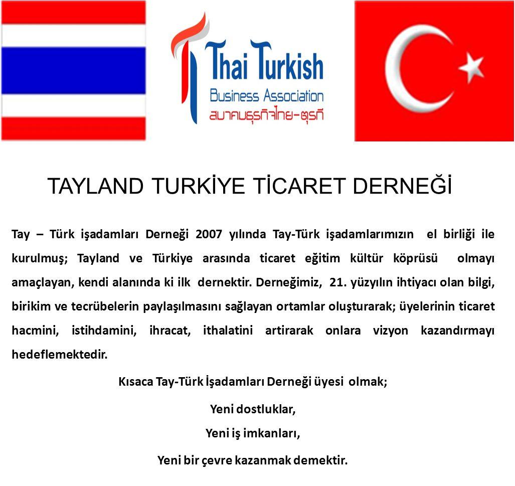 TAYLAND TURKİYE TİCARET DERNEĞİ