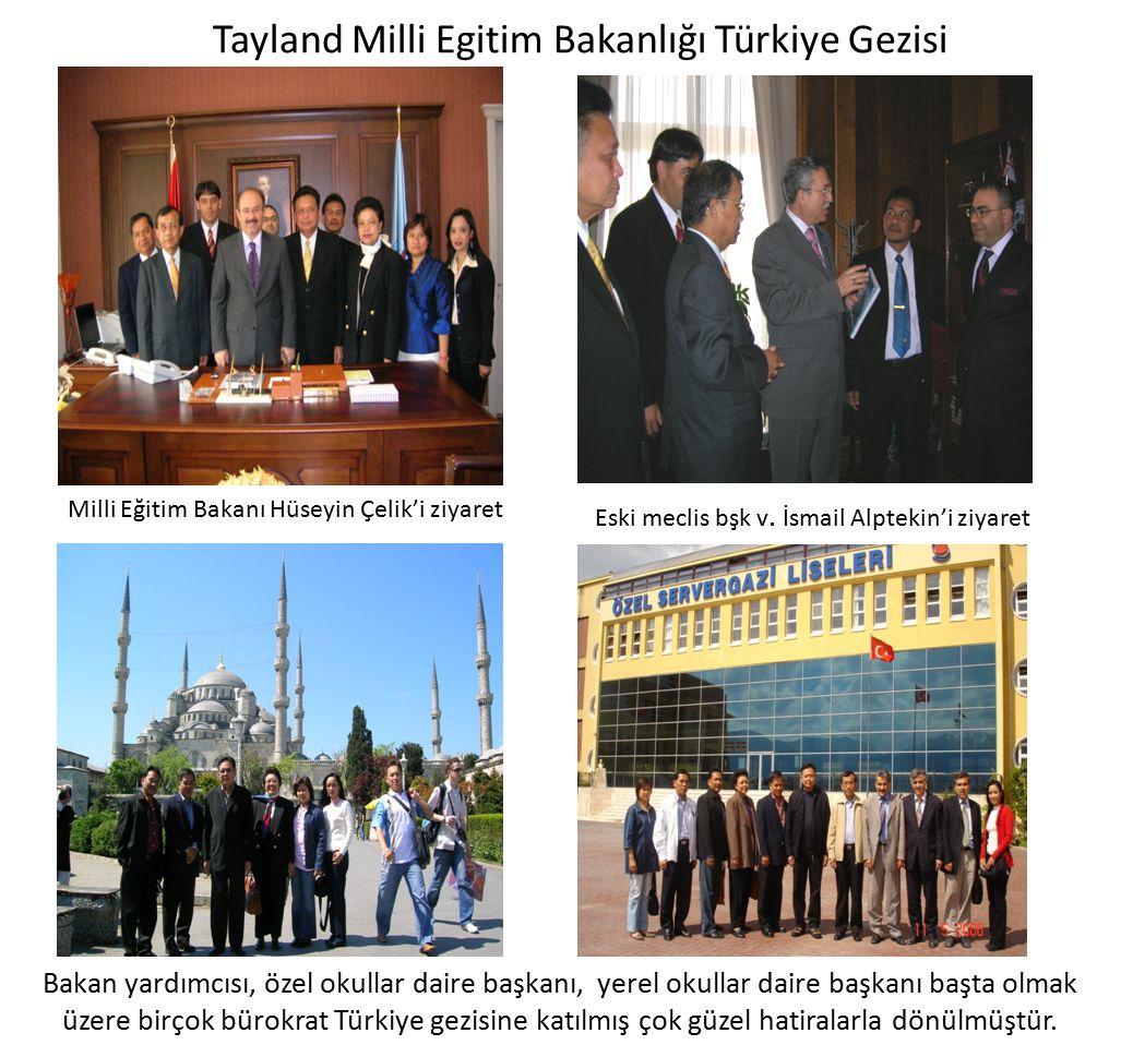 Tayland Milli Egitim Bakanlığı Türkiye Gezisi