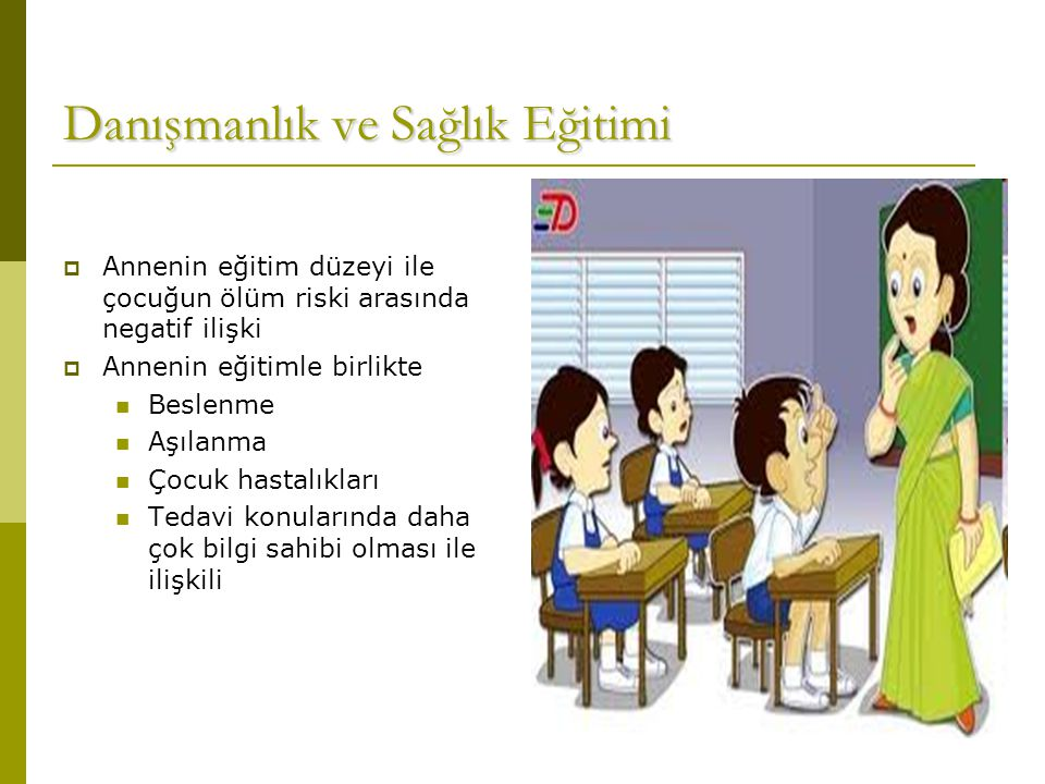 Danışmanlık ve Sağlık Eğitimi