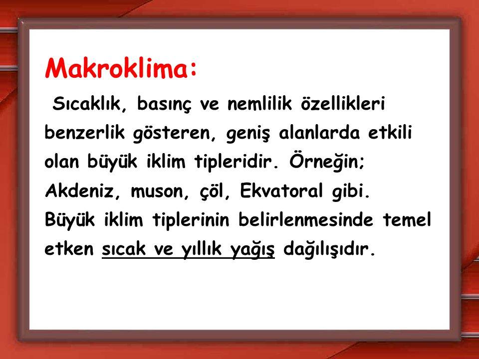 Makroklima: