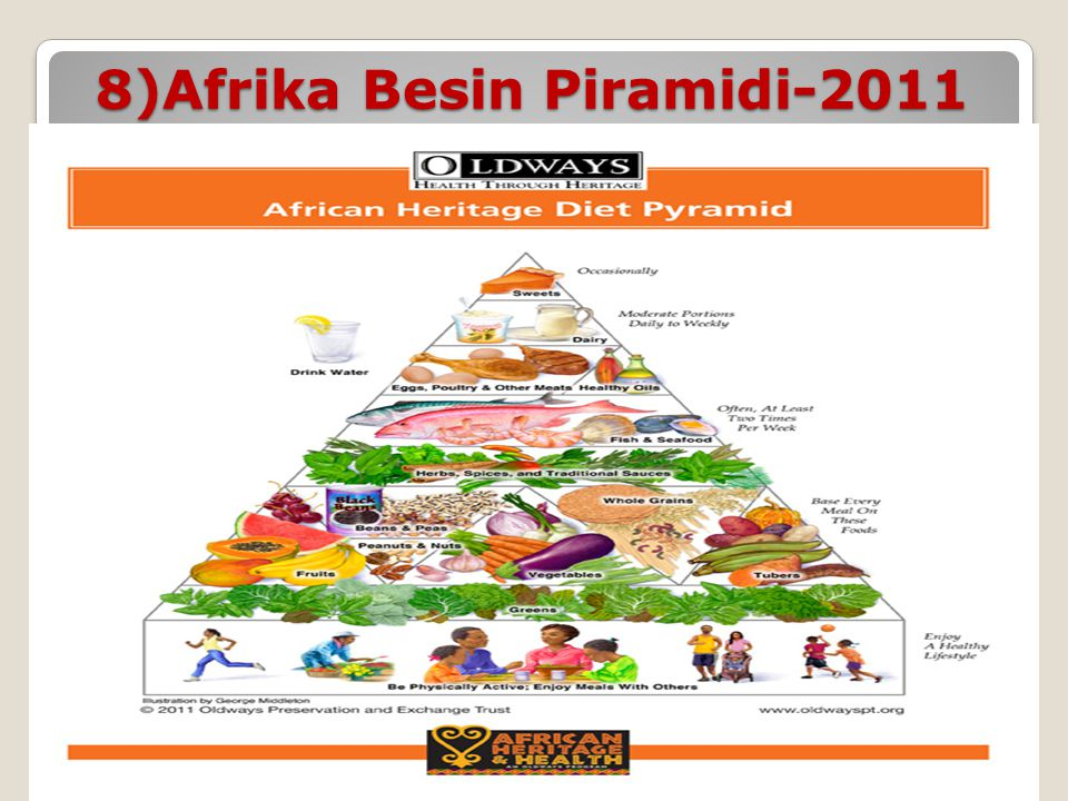 8)Afrika Besin Piramidi-2011