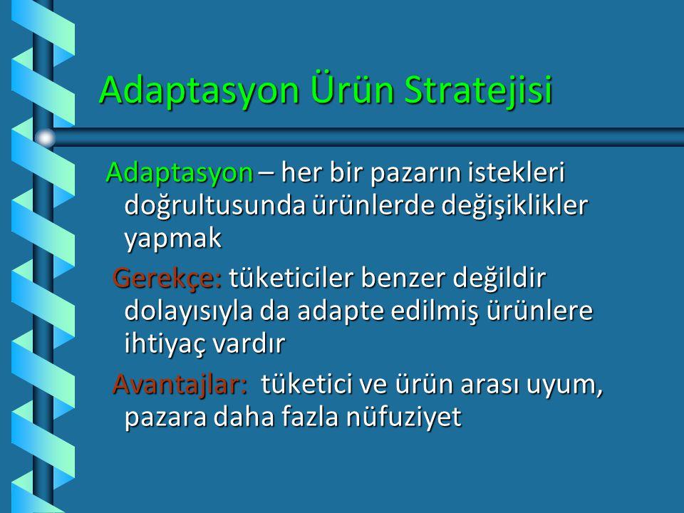 Adaptasyon Ürün Stratejisi