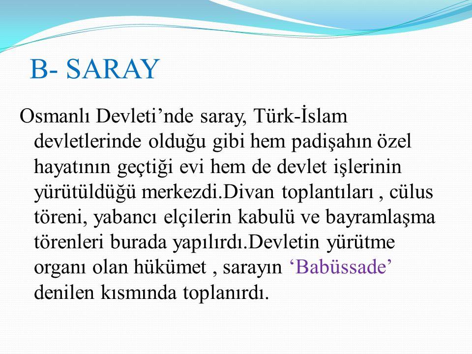 B- SARAY