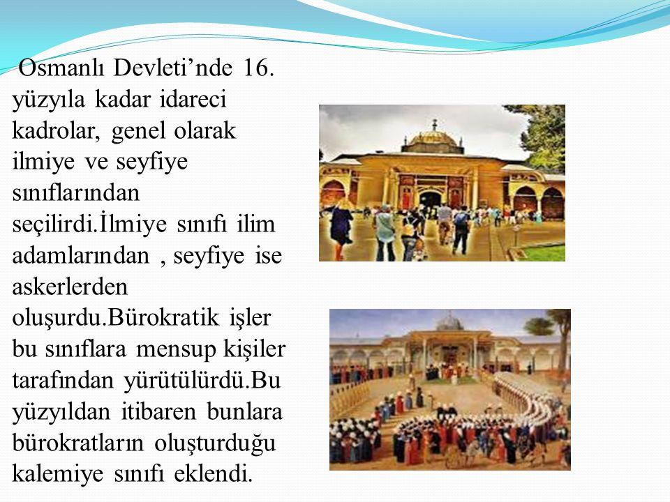 Osmanlı Devleti'nde 16.