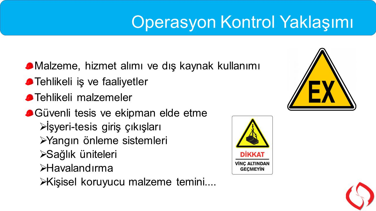 Operasyon Kontrol Yaklaşımı