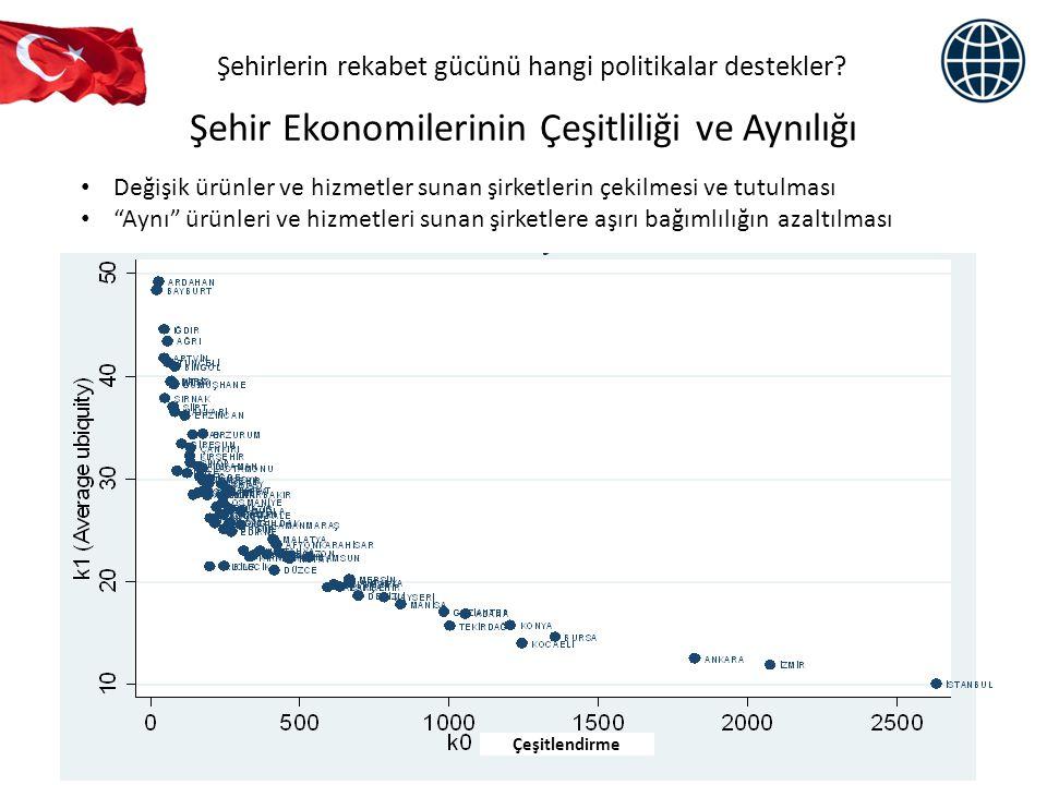 Şehir Ekonomilerinin Çeşitliliği ve Aynılığı
