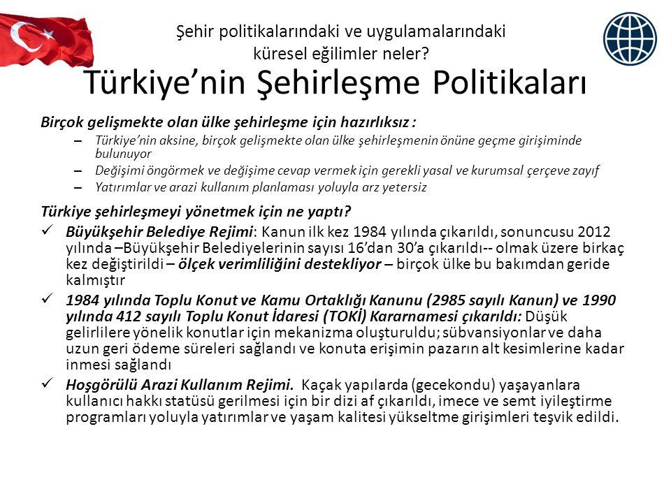 Türkiye'nin Şehirleşme Politikaları