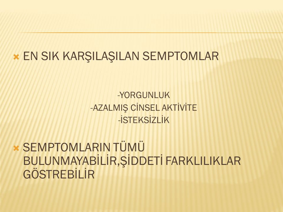 -AZALMIŞ CİNSEL AKTİVİTE
