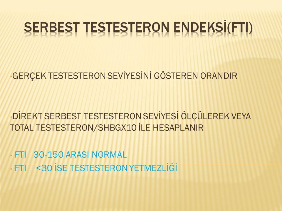 SERBEST TESTESTERON ENDEKSİ(FTI)