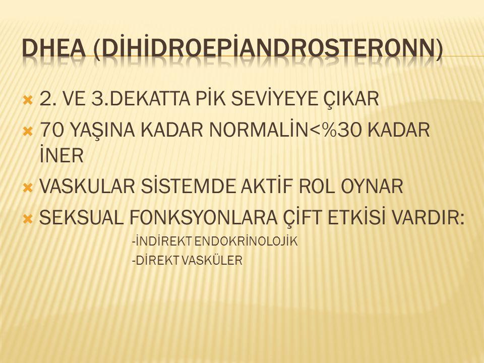 DHEA (DİHİDROEPİANDROSTERONN)