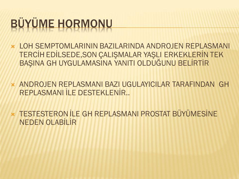 BÜYÜME HORMONU