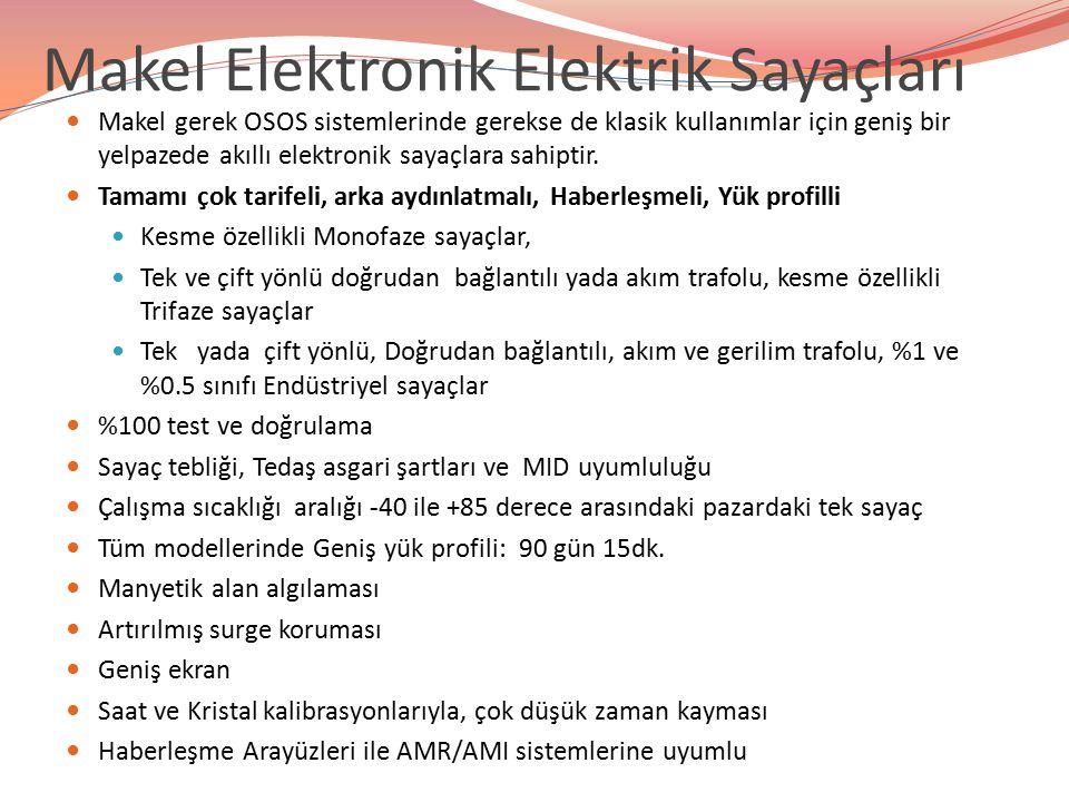 Makel Elektronik Elektrik Sayaçları