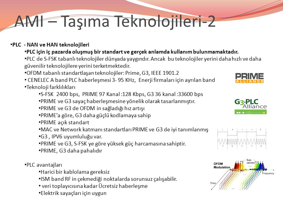 AMI – Taşıma Teknolojileri-2