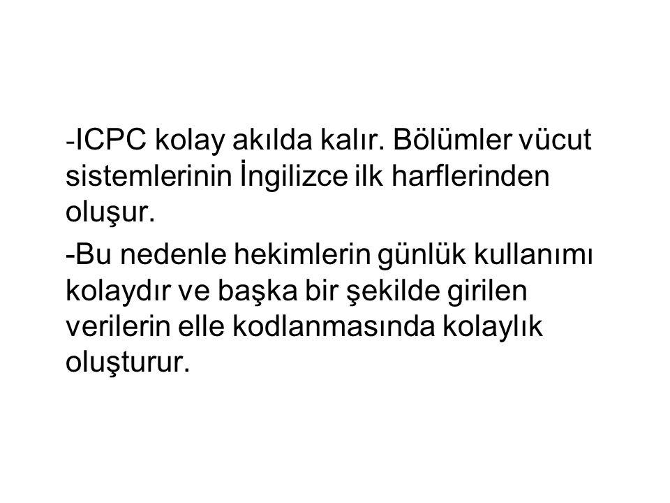 -ICPC kolay akılda kalır