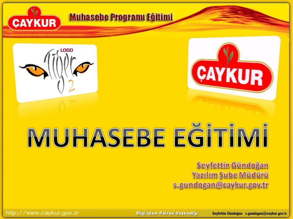 Seyfettin Gündoğan Yazılım Şube Müdürü s.gundogan@caykur.gov.tr