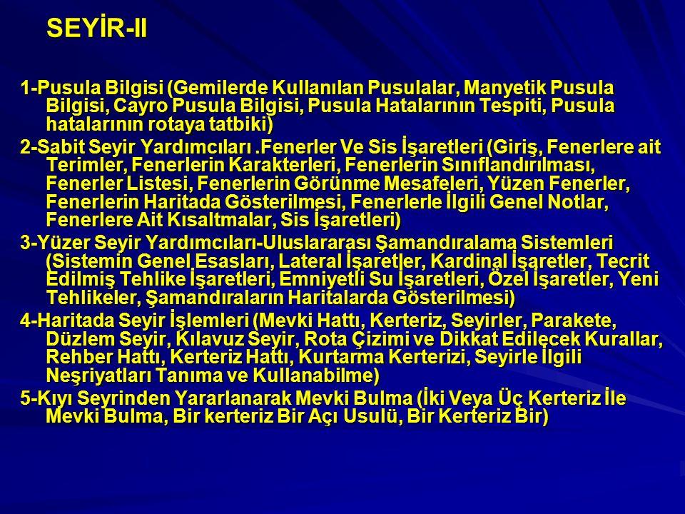 SEYİR-II