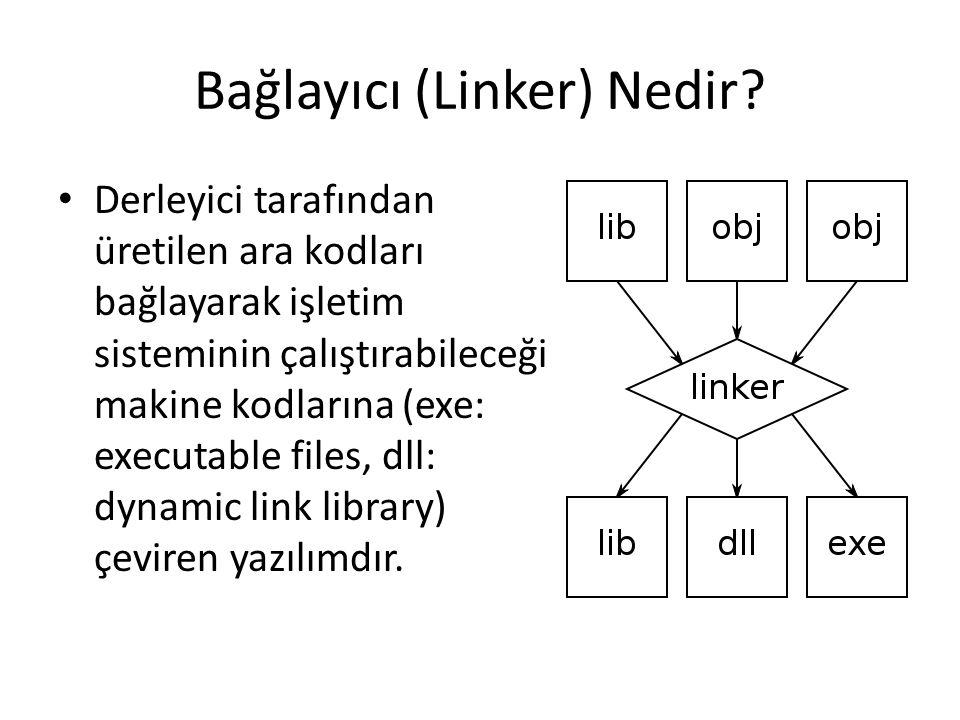 Bağlayıcı (Linker) Nedir