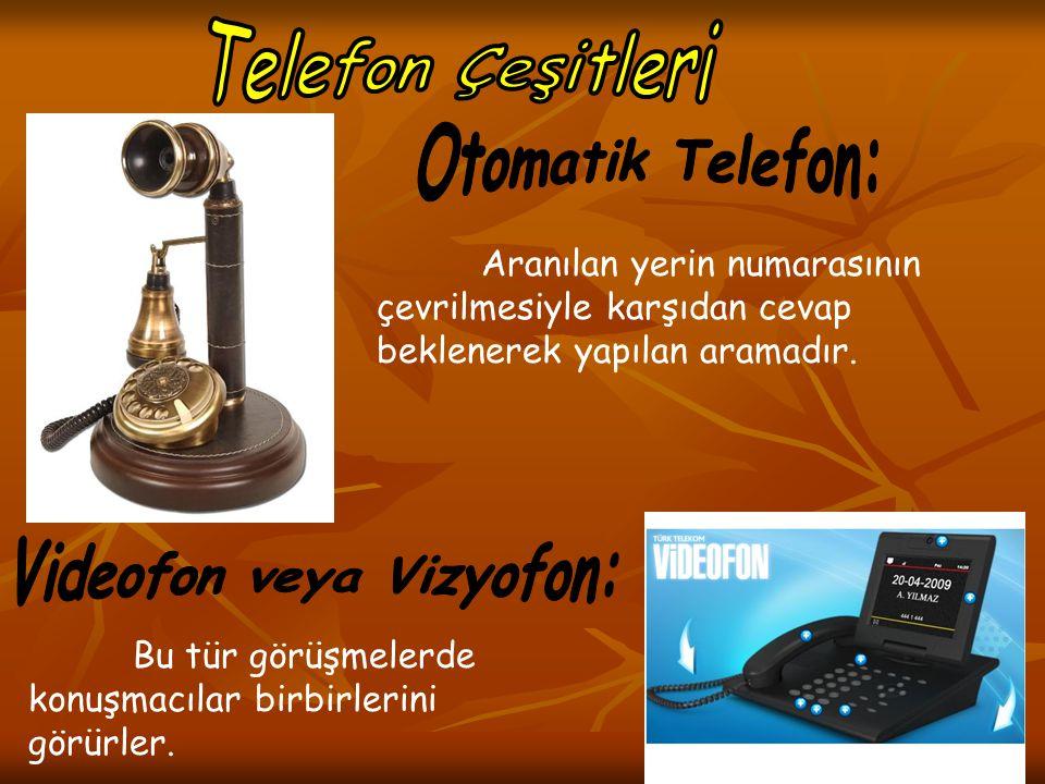 Videofon veya Vizyofon: