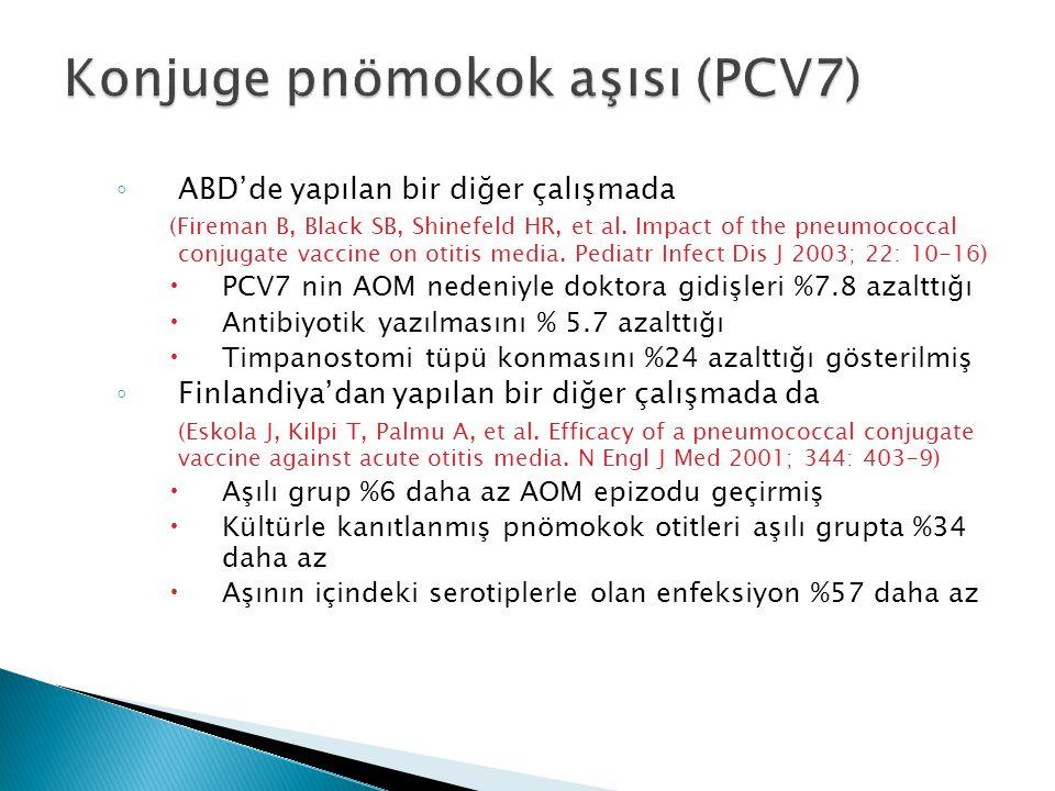 Konjuge pnömokok aşısı (PCV7)