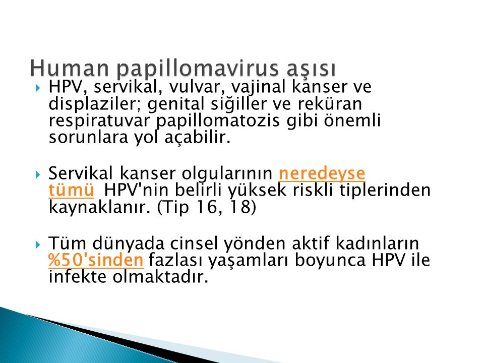 Human papillomavirus aşısı