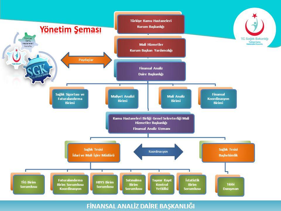 Yönetim Şeması FİNANSAL ANALİZ DAİRE BAŞKANLIĞI 7 29