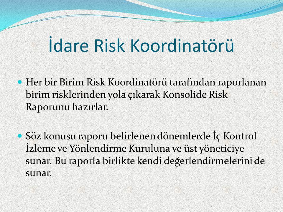 İdare Risk Koordinatörü