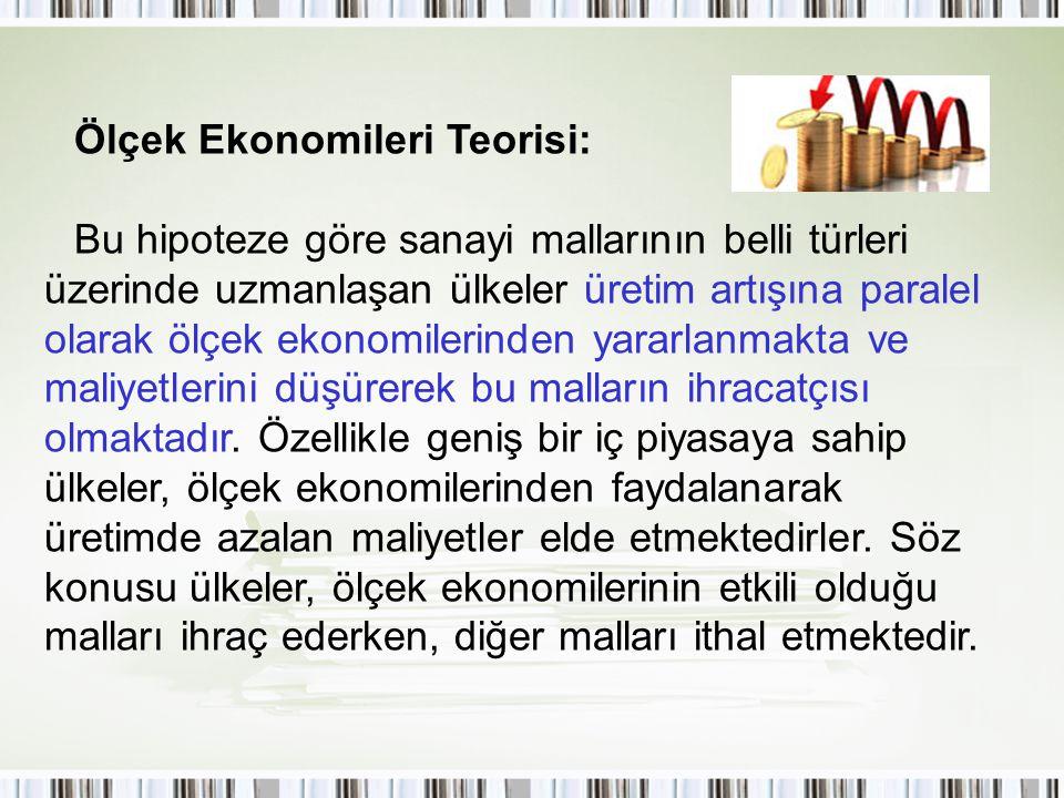Ölçek Ekonomileri Teorisi: