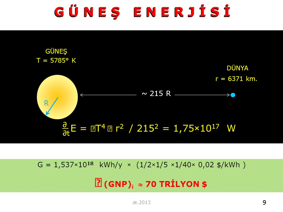 G = 1,537×1018 kWh/y × (1/2×1/5 ×1/40× 0,02 $/kWh )