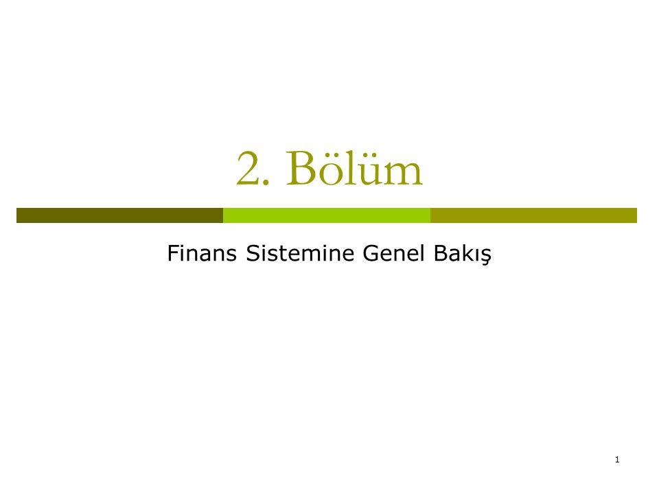 Finans Sistemine Genel Bakış
